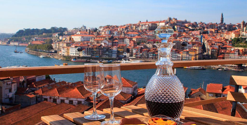 Verkosten Sie die besten Weine vor den schönsten Landschaften Portugals.