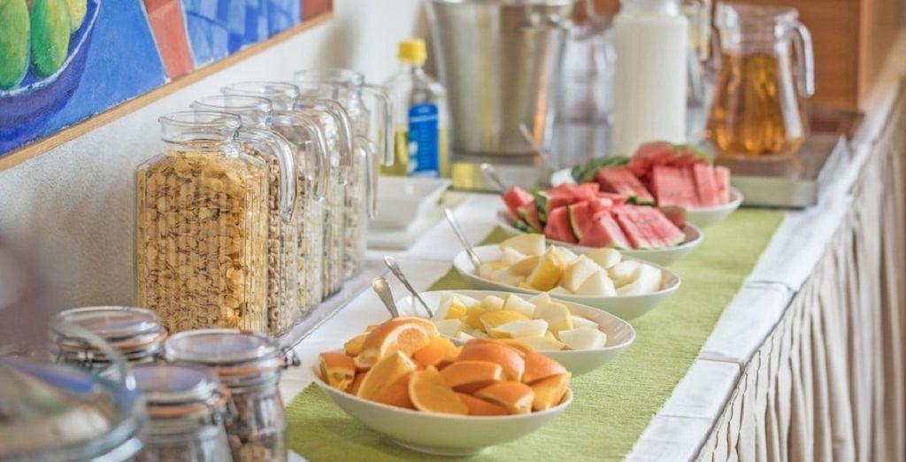 Starten Sie mit einem guten Früshstück in den Tag