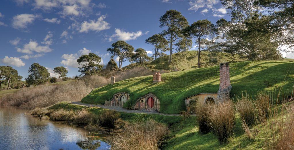 Entdecken Sie die Schauplätze der Lord of the Rings Dreharbeiten in Neuseeland