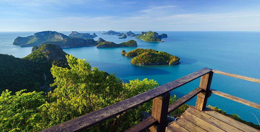 Sie übernachten auf der Insel Koh Samui