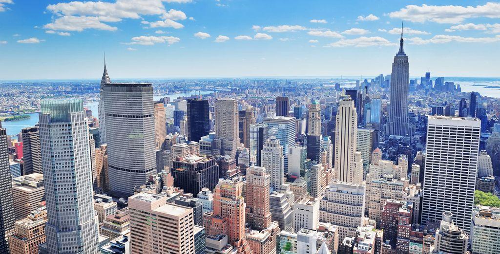 Machen Sie einen Zwischenstopp in New York
