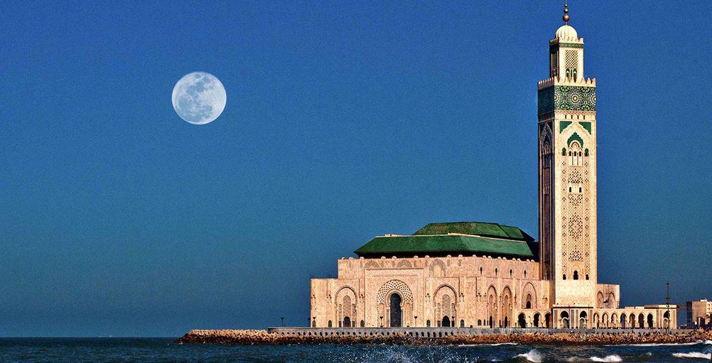 Besuch der Hassan II Moschee