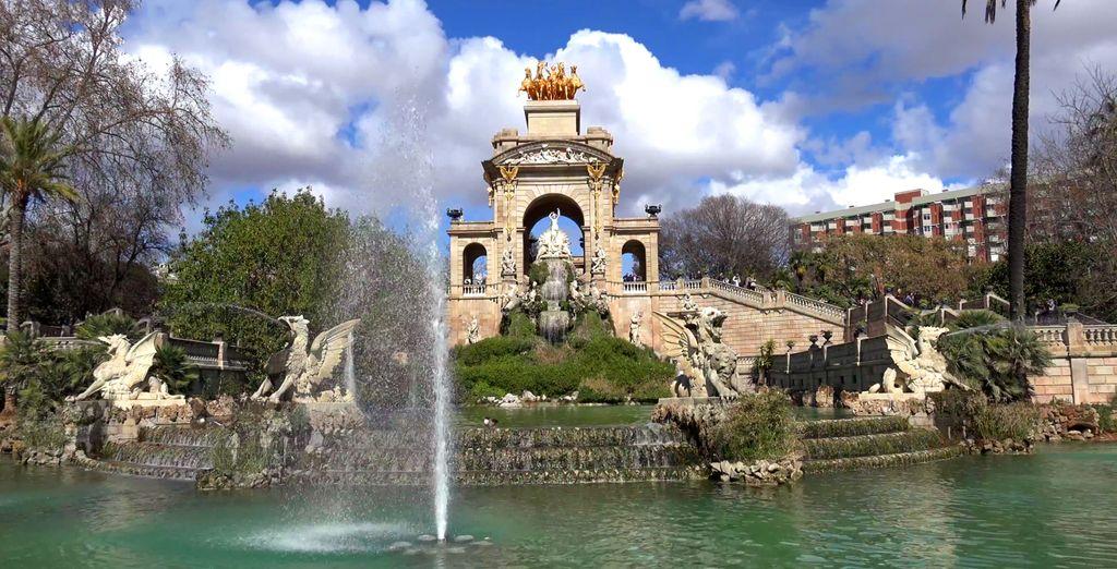 No te olvides de que Barcelona se encuentra a tan solo 50 minutos del hotel