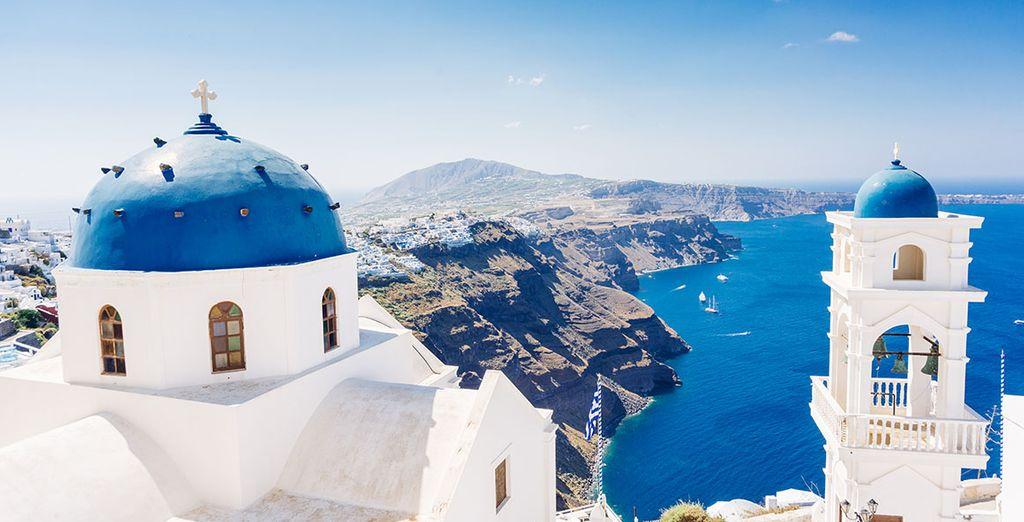 Aterriza en Imerovigli, en la ista griega de Santorini - Pegasus Suites & Spa 5* Imerovigli