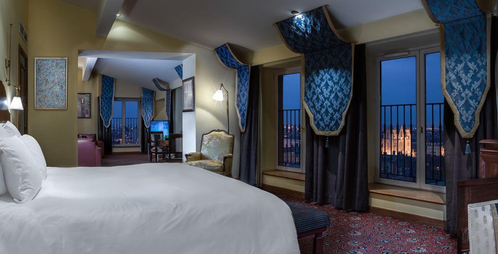 Disfruta de una estancia suite en la Master Suite Medicis