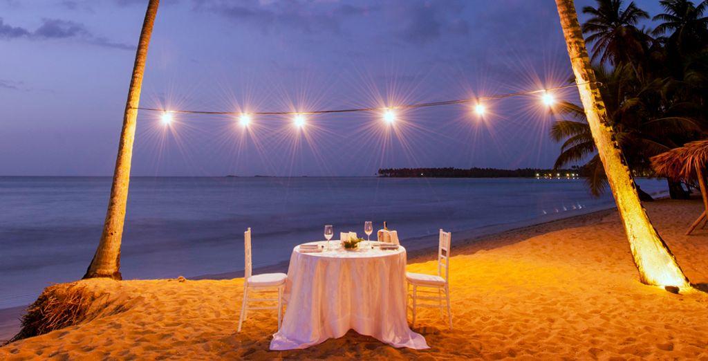 Por la noche, comparte una romántica cena con tu dulce mitad