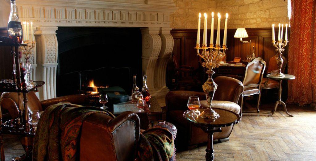 Tómese un momento para relajarse en la Cognathèque y conozca los secretos del mejor cognac