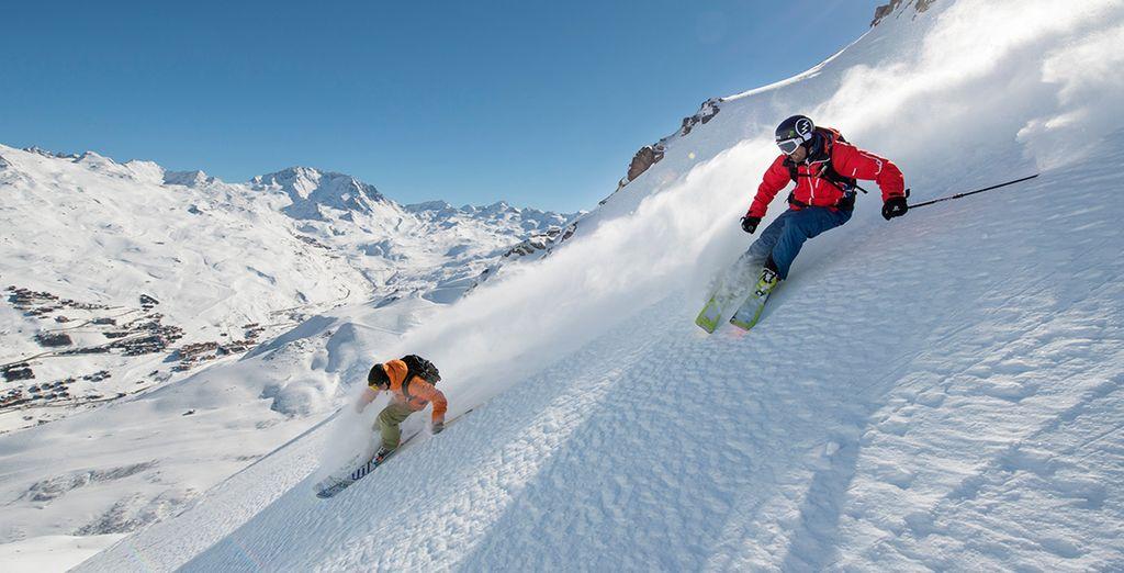 Aprovecha esta ocasión especial, ¡y alquila tu material de esquí con nosotros!