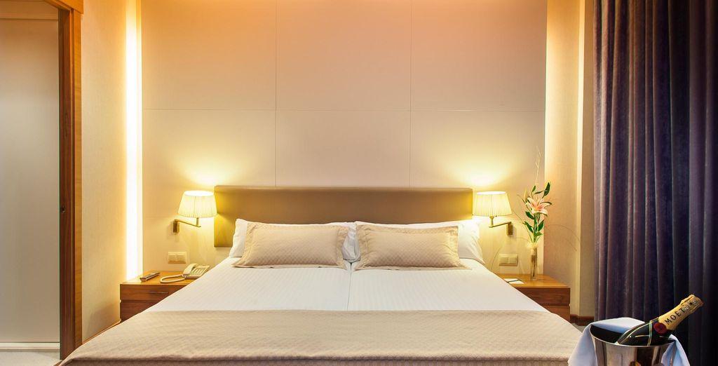 Para disfrutar de una estancia llena de confort, opta por la Junior Suite...