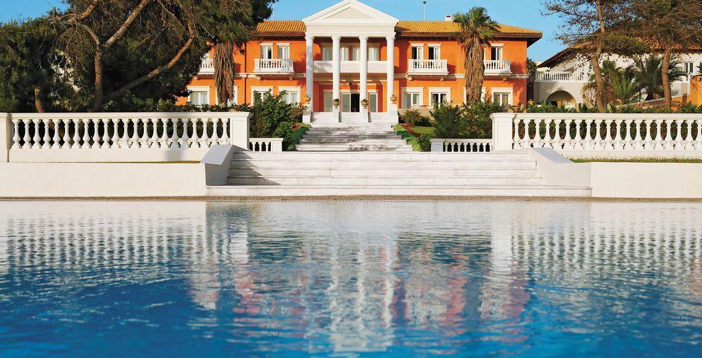 Y un diseño arquitectónico majestuoso y elegante...