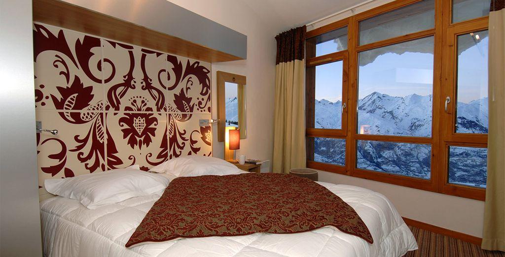 Con vistas al Mont Blanc y al valle de Tarentaise