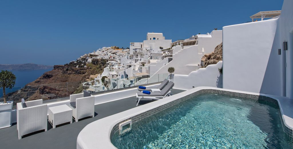 Tales como disponer de una magnífica piscina exterior