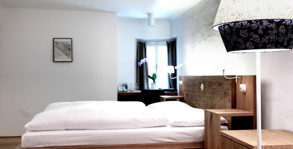La Small Double Room se adaptará a todas y cada una de tus necesidades