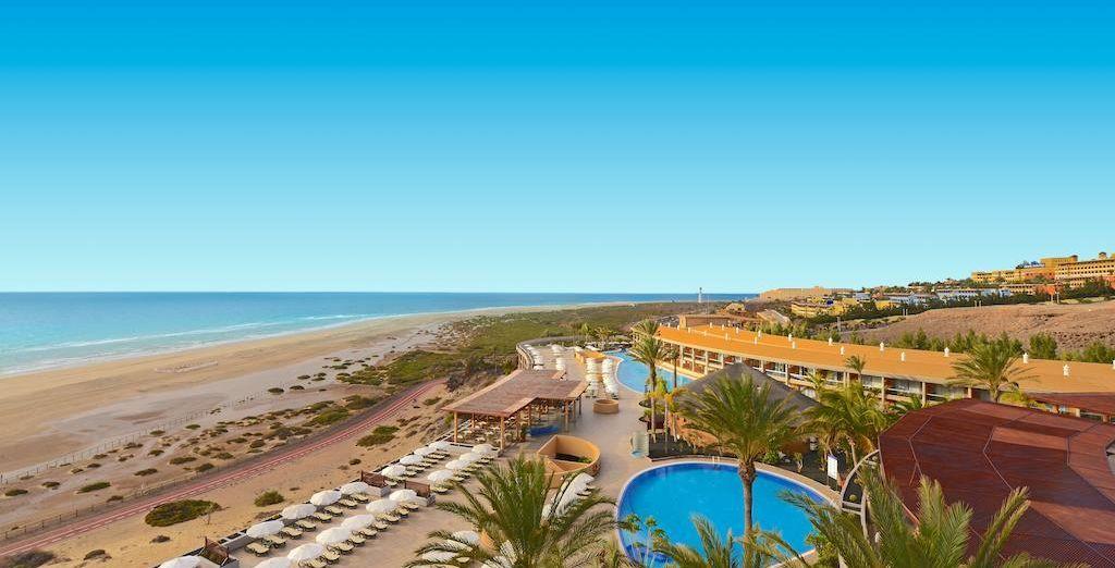¡Tu estancia en el Iberostar Fuerteventura Palace será de lo más agradable!