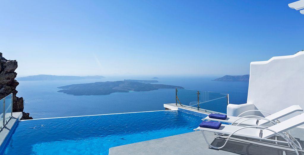 Regálate un sueño de color azul - Pegasus Suites & Spa 5* Imerovigli