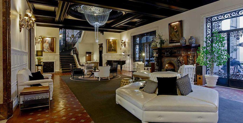 Este hotel es un magnífico ejemplo de arte barroco