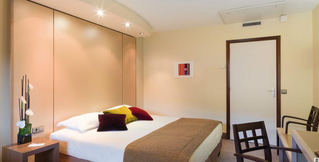 Alójate en una habitación confort