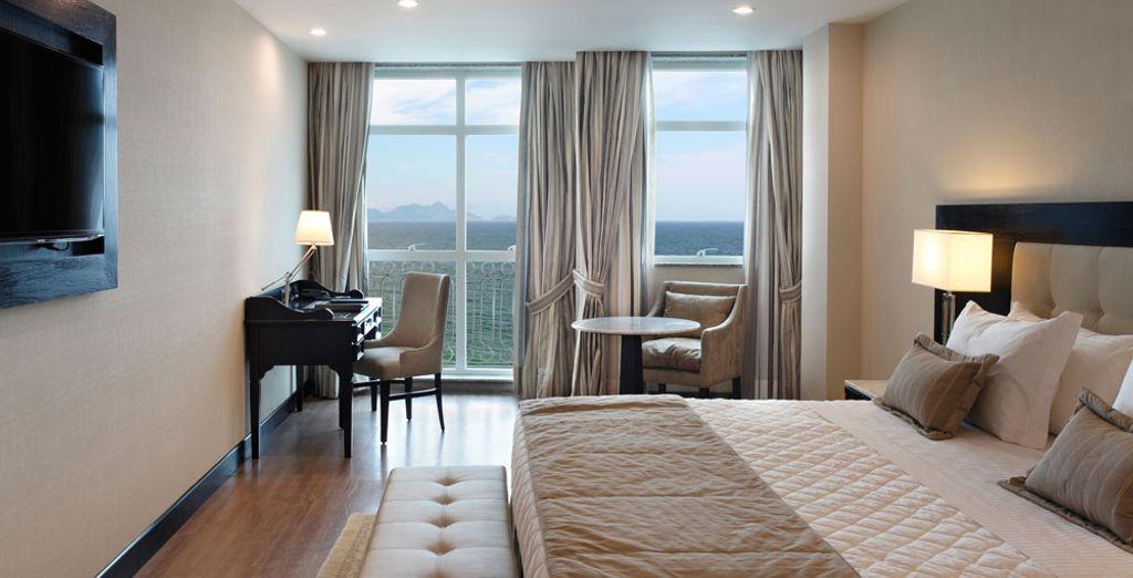 O quizás prefieras la habitación Superior Executive con sus incríbles vistas