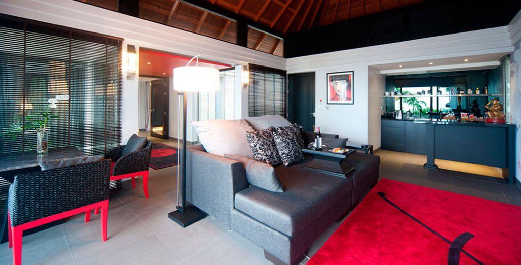 Elige la Villa Tropical con Piscina