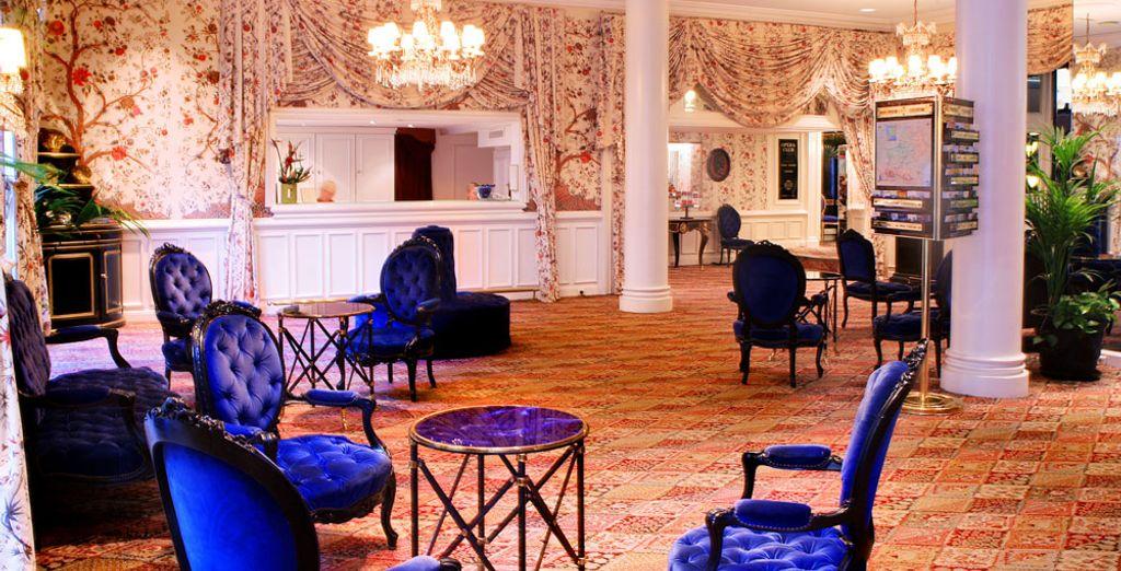 ...Convertido en un elegante hotel