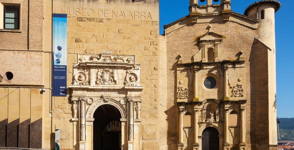Antes de visitar el museo de Navarra