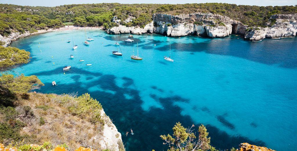 Dése un chapuzón en el mar Mediterráneo
