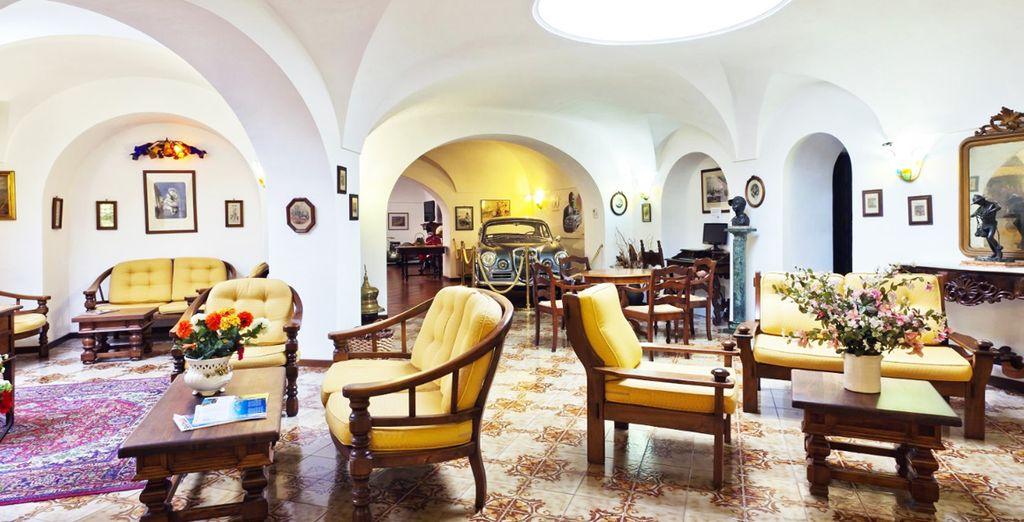 Un inusual salón...