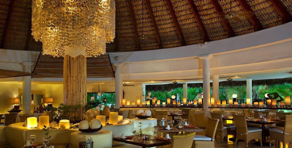 Alta gastronomía de Hotel con propuestas internacionales y temáticas