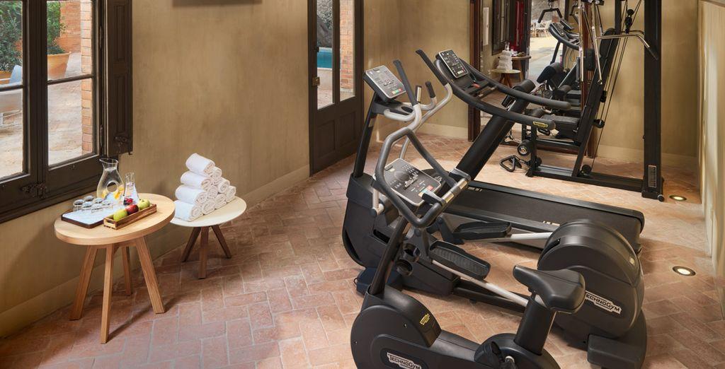 Tu hotel cuenta con gimnasio para mantener la línea durante tus vacaciones