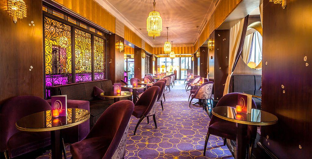 Los interiores de este hotel impresionan a todos sus huéspedes