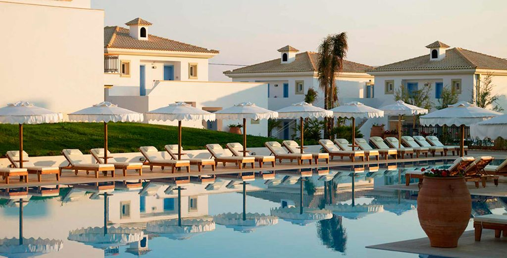 Bienvenido a Mitsis Laguna Resort & Spa 5*
