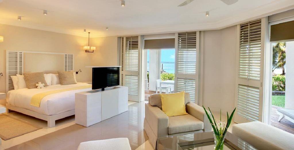 O encuentra el máximo confort en una Ocean Villa