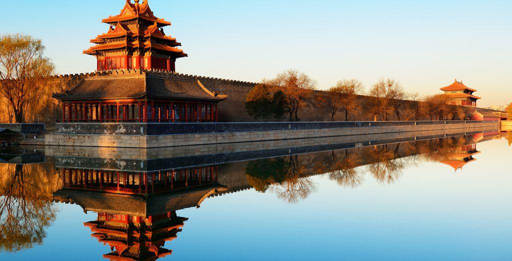 Te esperan lugares espectaculares para visitar, como el Palacio Imperial Pekin