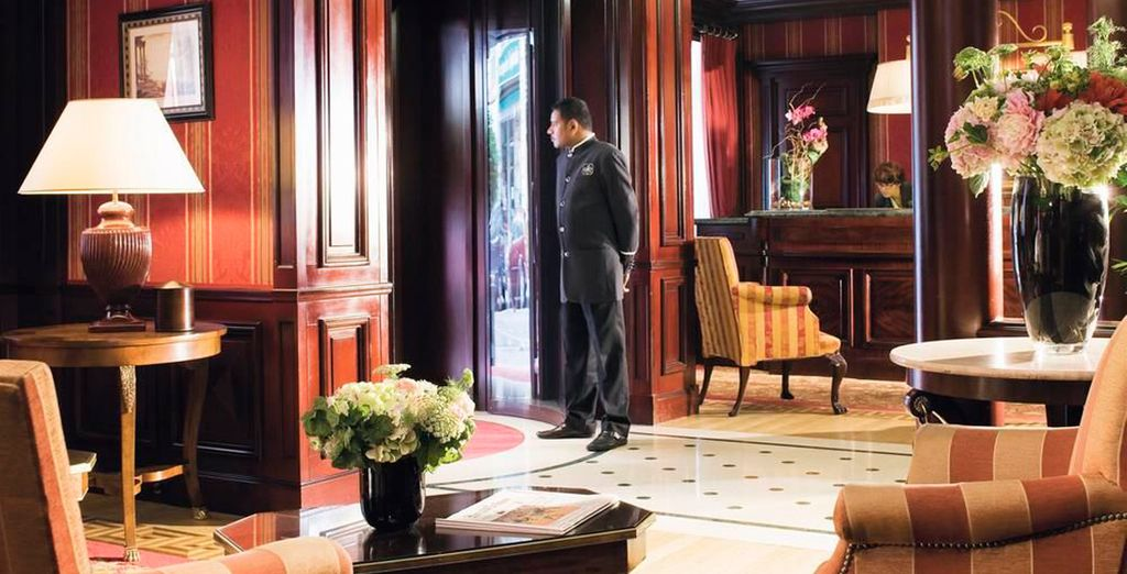 Un hotel de lujo en el corazón de París