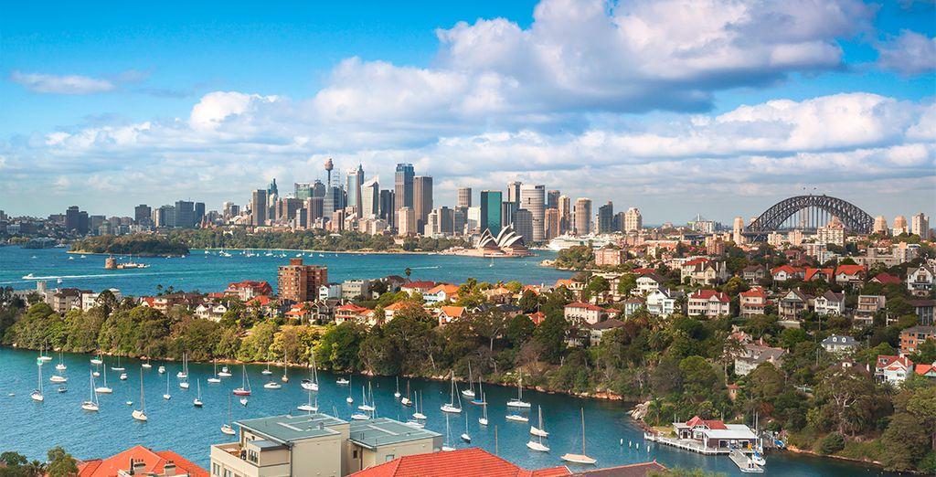 Vista panorámica a la ciudad