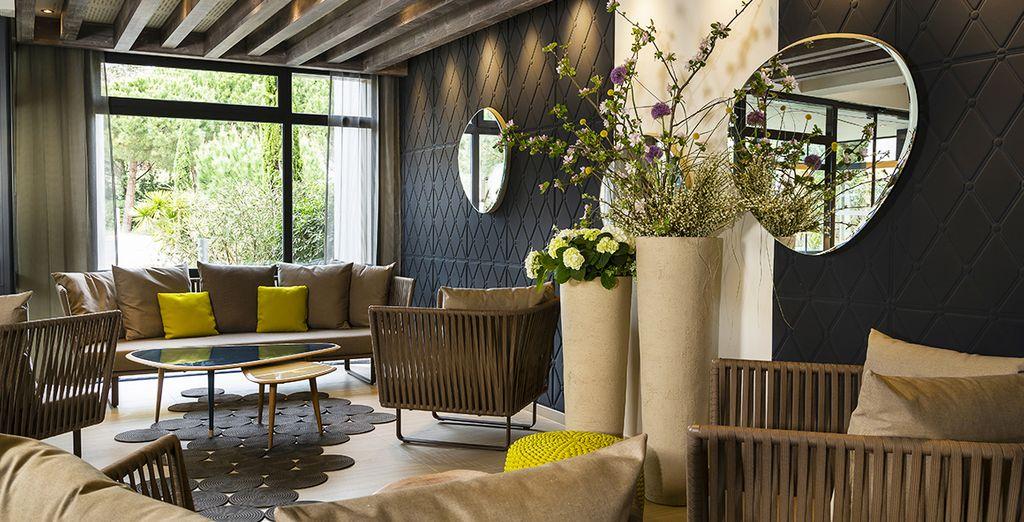 Hotel Les Bains d'Arguin 4* te da la bienvenida