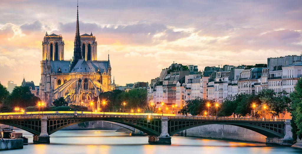 La Catedral de Notre Dame y el río Sena