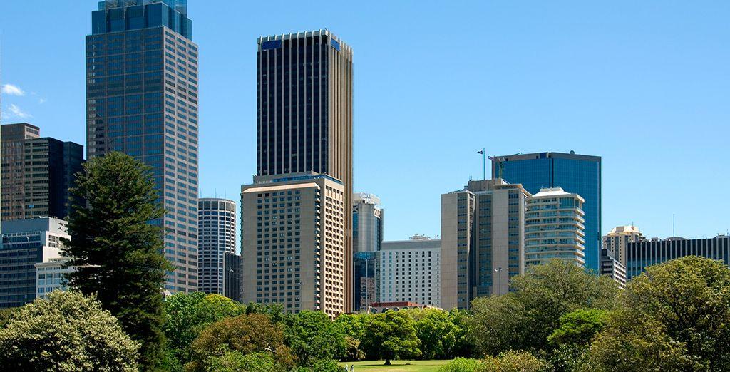El hotel está cerca de las principales atracciones turísticas de la ciudad