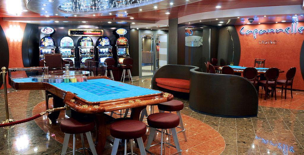 Entre en su casino y tiente a la suerte