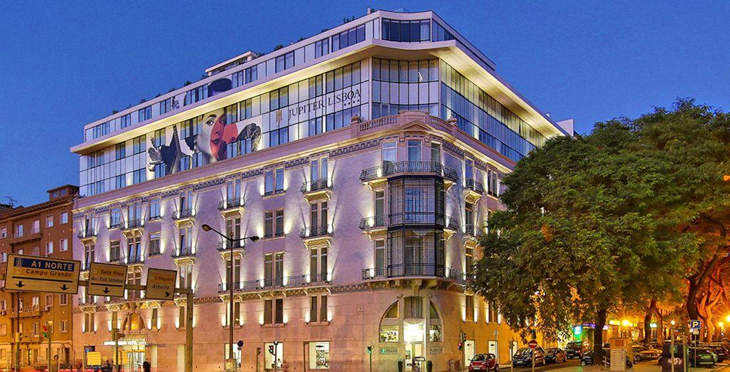 Bienvenido al Jupiter Lisboa Hotel 4*