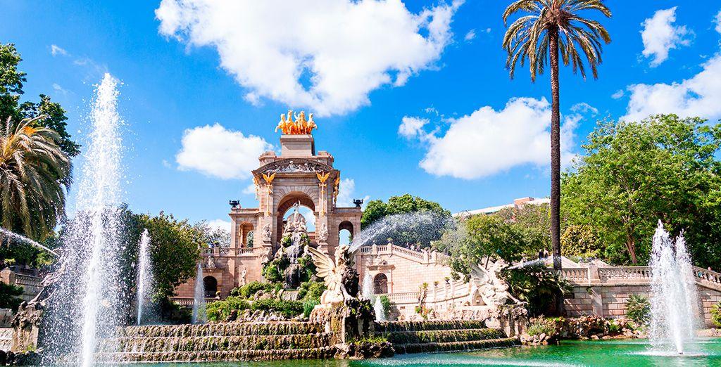 Parques con niños en Barcelona