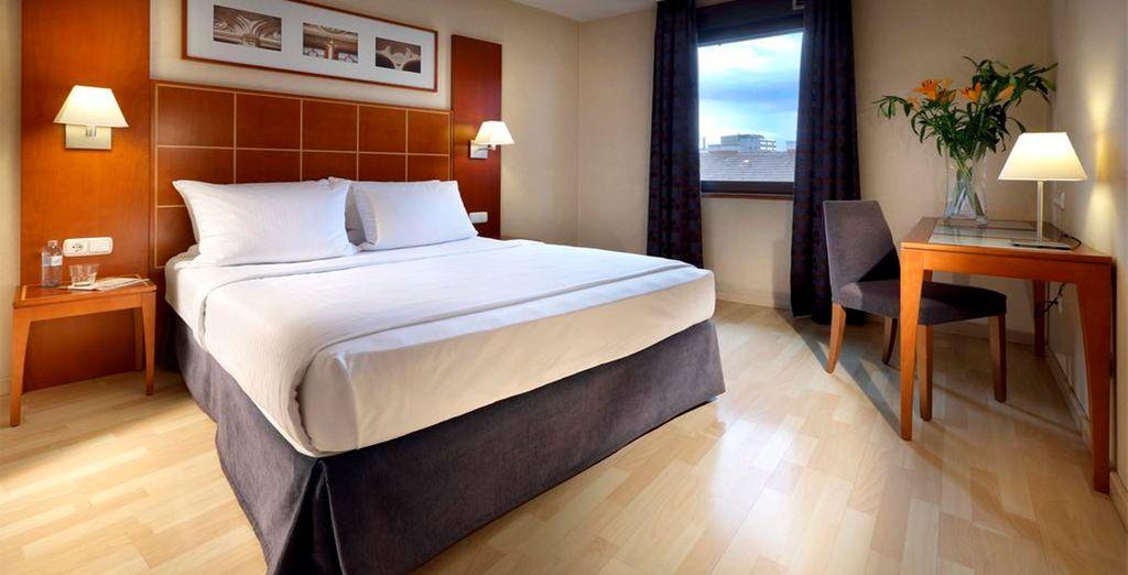 Tu habitación en Hotel Exe Vienna 4*