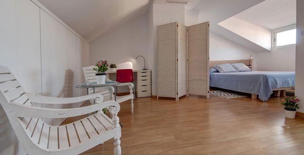 Apartamento 3: la habitación