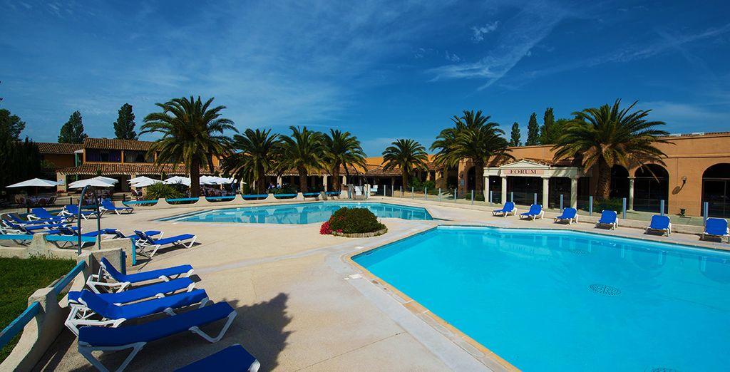 Bienvenido al Hotel Club Residence les Amandiers 4*