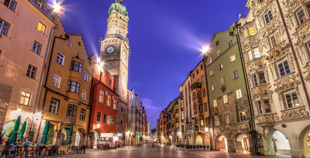 Piérdase por las calles de Innsbruck