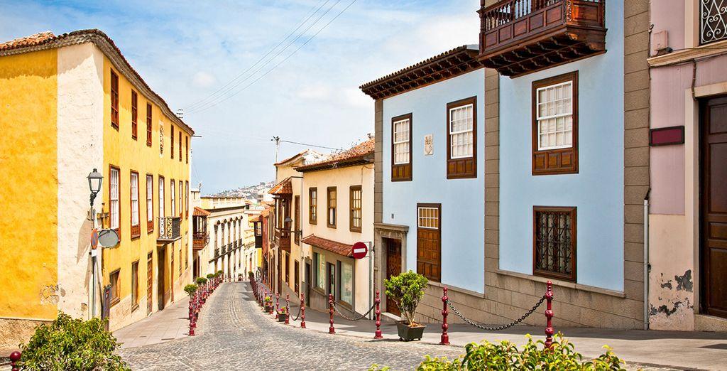 Visite la Villa de la Orotava, que cuenta con la declaración de conjunto histórico-artístico