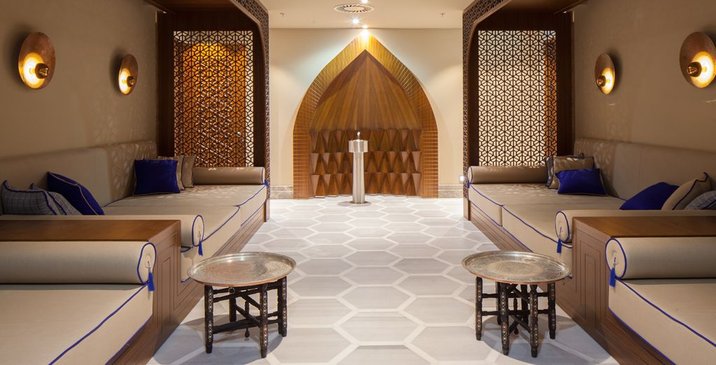 Un hotel con espacios pensados para tu relax