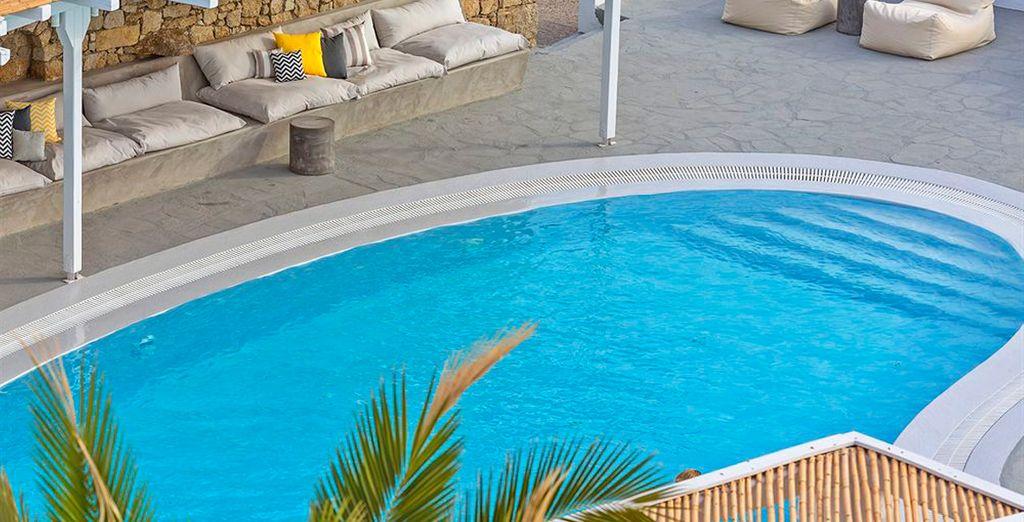 Boheme es un hotel de lujo en Mykonos