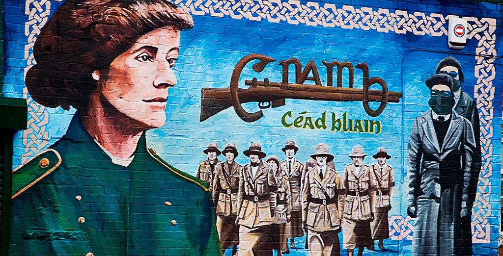 Realizarás un visita a sus conocidos murales