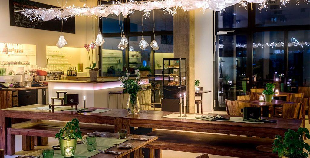 Un restaurante moderno y con mucho estilo